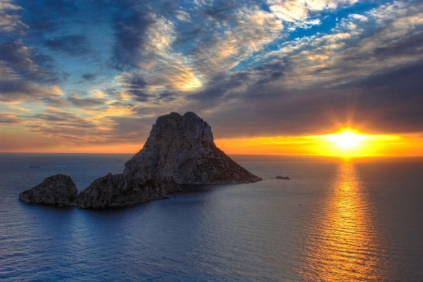 Fotos de puestas de sol sobre el mar 9