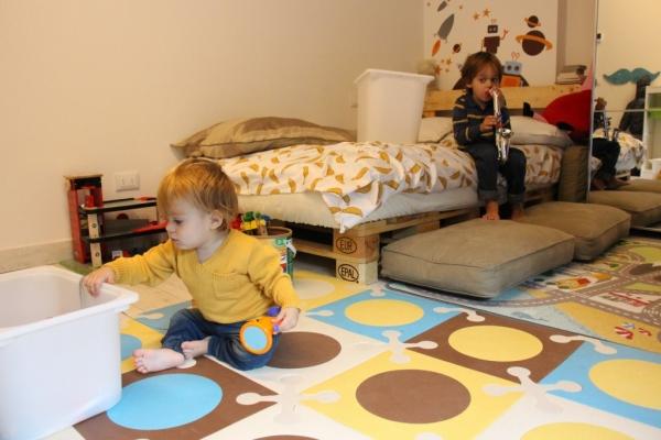 Letto Per Bambini Montessori : Camerette in stile montessori leomamma